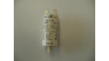 Condensator 2.5 uF aansluiting 2x2 stekkers