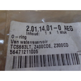 AEG o ring waterreservoir 56471211005