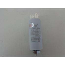Condensator 4 uF 2x2 stekker aansluiting