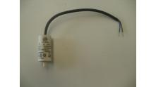 Condensator 4 uF aansluiting 2 draden