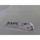 Aeg T55540 Watertank compleet Art.No.:4055320107